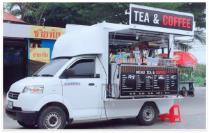 รถกาแฟเคลื่อนที่ บริการรับจัดเลี้ยงนอกสถานที่