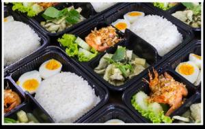 อาหารกล่องเดลิเวอรี่ รับจัดเลี้ยงนอกสถานที่